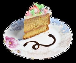 🍰Porción Cake Naranja y Semillas de Amapola