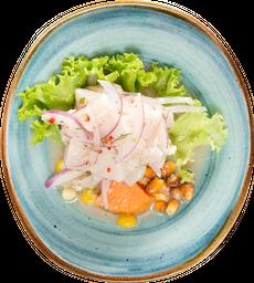Ceviche Clasico + Aji de Gallina + Suspiro a la limeña