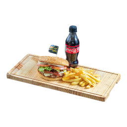 Hamburguesa Cuarto D' Libra Premium