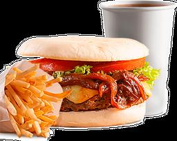 🍔 Veggie BBQ en Combo 🍟