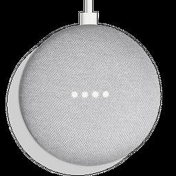 Bocina inteligente Google Home mini Gris