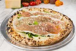 Pizza Biancaneve e Parma (Blanca)