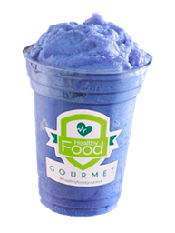 Smoothie Blue Sunflower