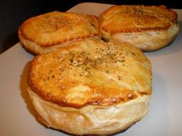 Pastel de Pollo vegetales