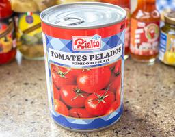 Lata tomates pelados rialto 400 gr