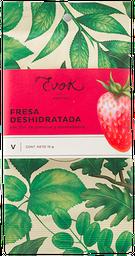 Fresa deshidratado