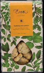 Galleta azúcar-Limonaria-Limón