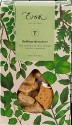 Galleta azúcar-Chía-Toronjil-Naranja