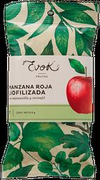 Manzana liofilizado