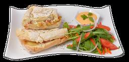 Sándwich Vegetariano de Amaranto y Quinoa (Amaqui)