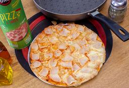 Pizza Para Preparar Jamón y Pavo