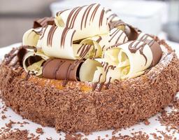 Cheesecake Horneado De Chocolate