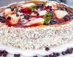 Cheesecake Horneado De Frutos Rojos