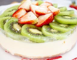 Cheesecake Fresa Sin Azúcar