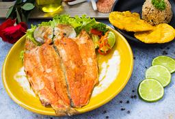 Trucha a La Plancha