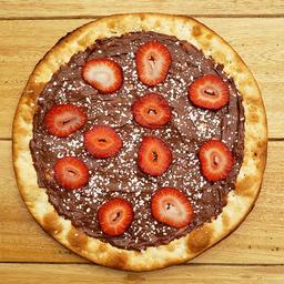 Pizza de Nutella y Fresas