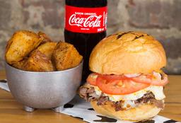 🍔Roast Beef Sándwich en Combo con Coca Cola