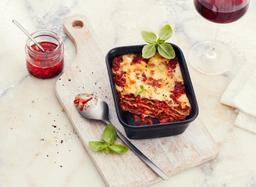 🍽Combo Lasagna Boloñesa + Gaseosa 300 ml