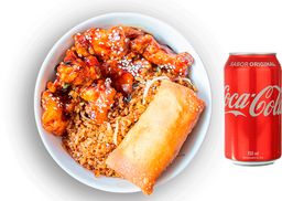 🍛Arma tu Dragón Bowl + Coca-Cola 300 Ml⭐