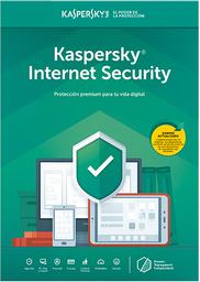 Licencia Internet Security Kaspersky 3 Dispositivos 1 Año