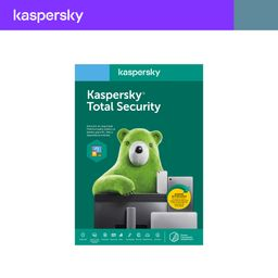 Antivirus Total Security 3 dispositivos 2 años Kaspersky