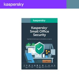 Antivirus Small Office 5 dispositivos 1 Servidor 1 año Kaspersky