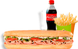 🥪🍟Súper Especial en Combo con Coca-Cola