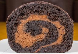 Brazo de Reina Chocolate Negro (Porción/Completo)