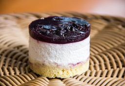 Blueberrychesse Mousse