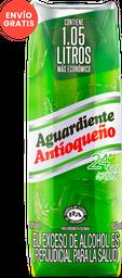 Aguardiente Antioqueño 24° Verde 1050 Ml