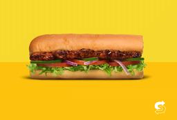 Sándwich Sub Costillas BBQ 15cms