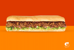 Sándwich Sub Cerdo BBQ 30cms