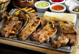 Corte Costillas Cerdo BBQ