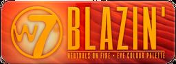 Blazin' - Eye Colour Palette