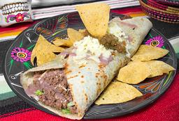 Burrito Percherón con bebida gratis