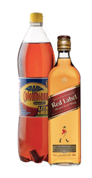 Rappicombo Johnnie Walker + Colombiana 1.5 lts