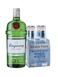 Rappicombo Tanqueray + 4 pack fever tree