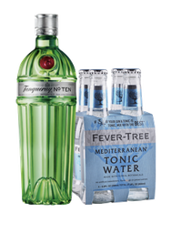 Rappicombo Tanqueray Ten + 4 pack fever tree