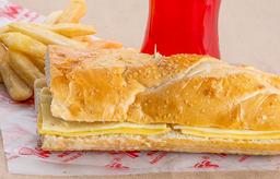 Sándwich de Queso en Combo