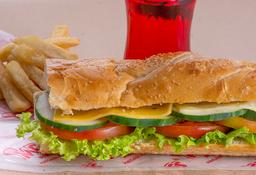 Combo Sándwiche Vegetariano