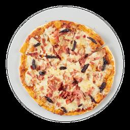 Pizza Tocineta y Ciruela Grande