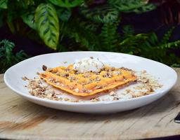 🥞 Waffle de Ahuyama