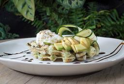 🥞 Waffle de Zucchini y Brócoli