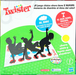 Twister Hasbro Multicolor