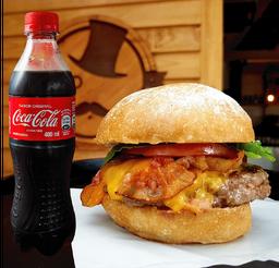 🍔🥤Bacon Cheeseburger + Bebida