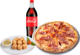 Pizza Archies Mediana + Entrada + Coca Cola 1.5