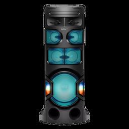 Sistema de audio en casa  con BLUETOOTH® MHC-V81D
