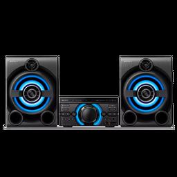 Sistema de audio de alta potencia con DVD M60D MHC-M60D