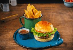 Combo hamburguesa angus 1/4 de Libra