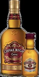 Rappicombo Chivas Extra Regal 750ML + miniatura Chivas 12 gratis